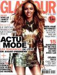 Beyoncé é a capa da revista glamour em paris no mes de fevereiro